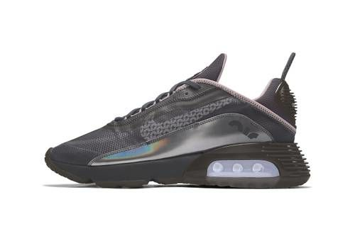Metallic-Tinted Practical Sneakers