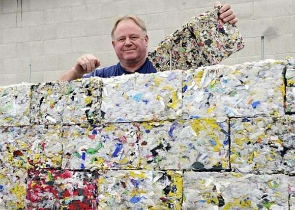 Recyclable Building Blocks