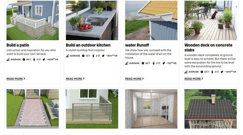 DIY Renovation Databases