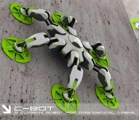 Amazing Bionic Climbing Robot