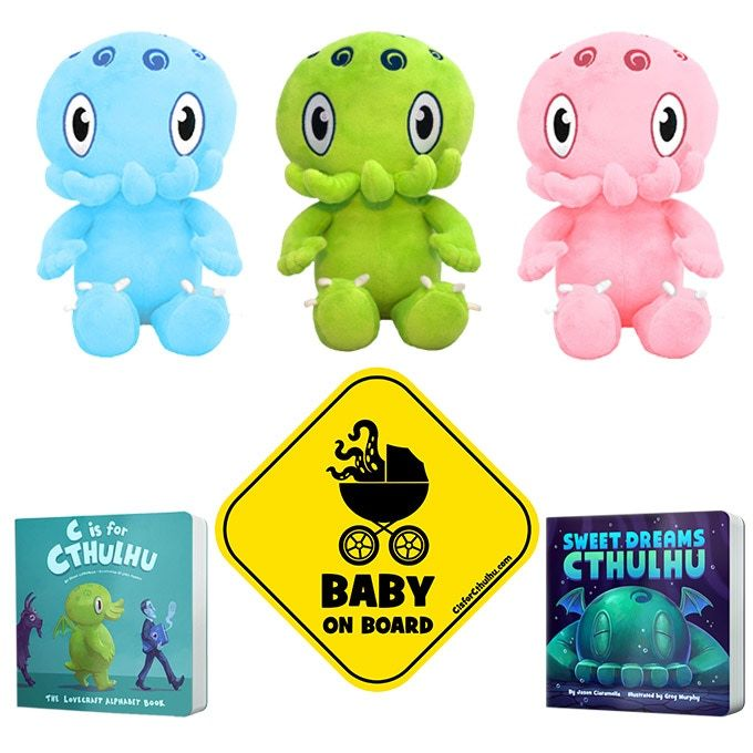 Cute Cthulhu Plushies