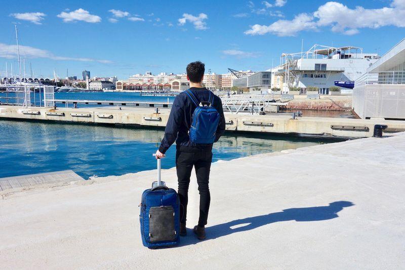 Hybrid Minimalist Luggage Backpacks