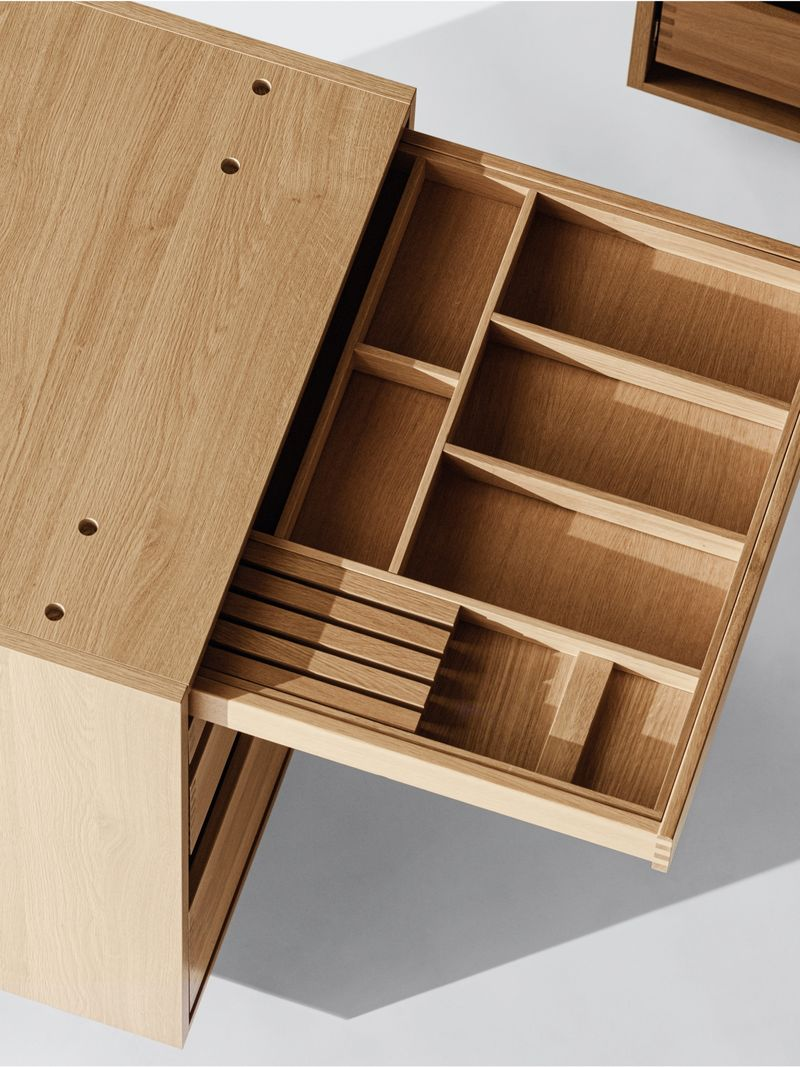 Fastener-Free Cabinetry Designs