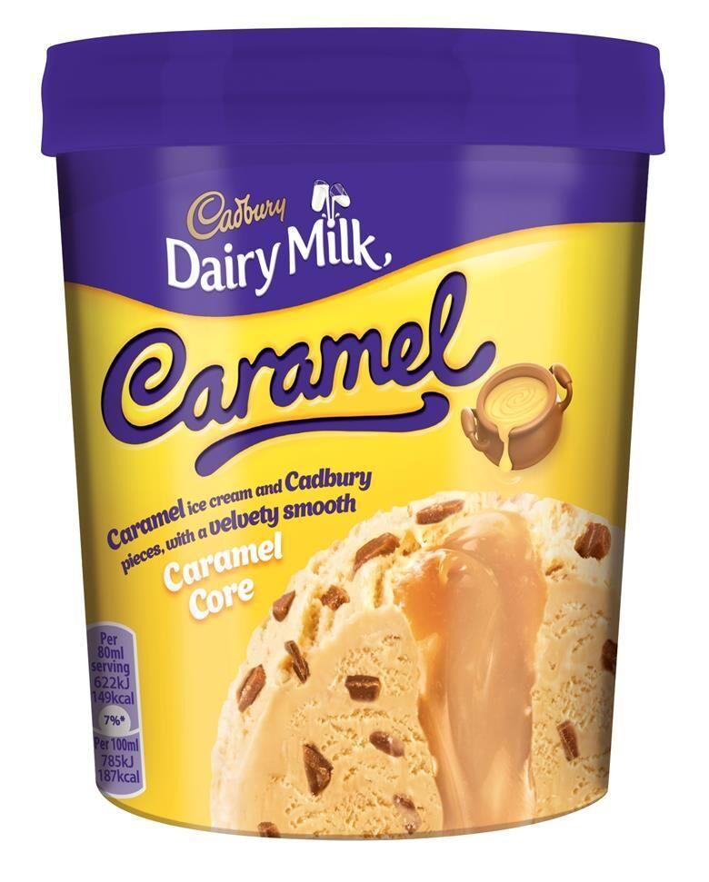 Indulgent Caramel Ice Creams