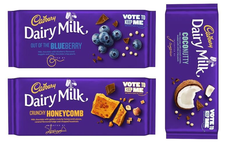 Competition-Created Candy Bars
