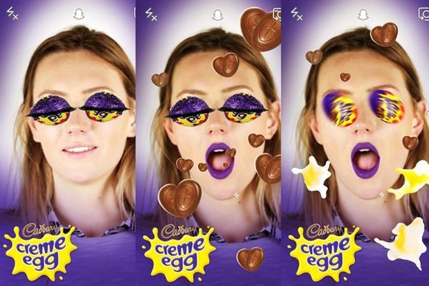 Easter Egg Snapchat Lenses