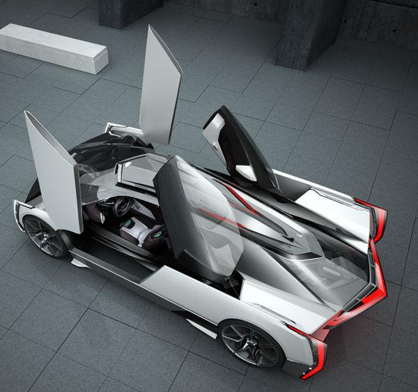 Visionary Supercar Concepts Cadillac Estill