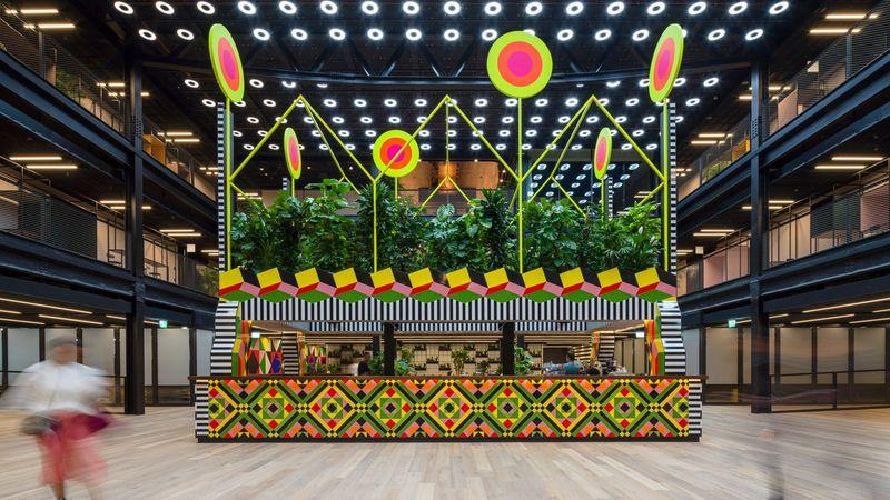 Visually Striking Café Pavilions