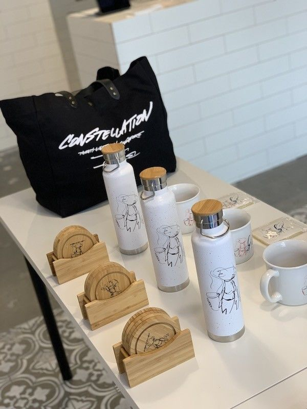 Artist-Designed Coffee Accessories