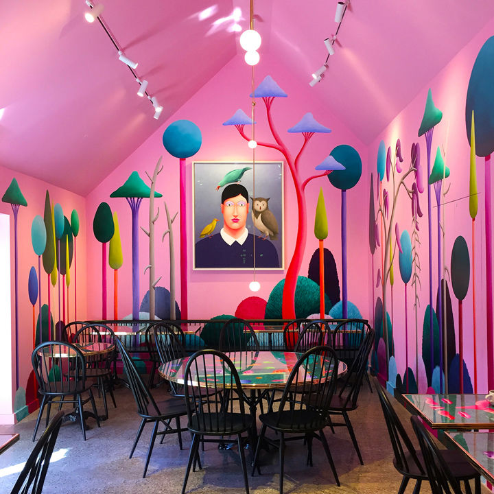 Surreal Party-Themed Cafes