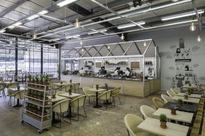 Greenhouse-Inspired Coffeeshops