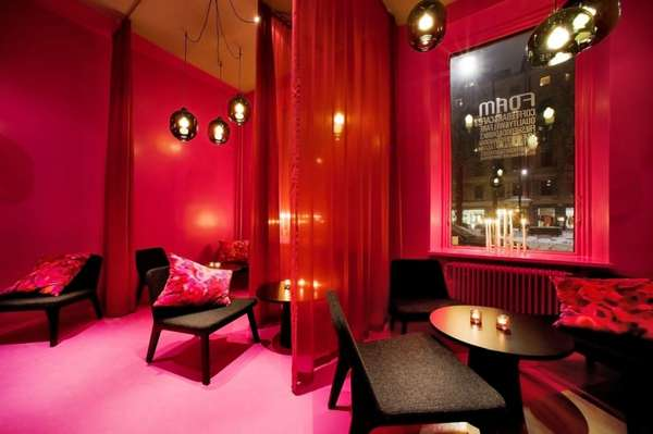 Whimsical Pinktastic Interiors