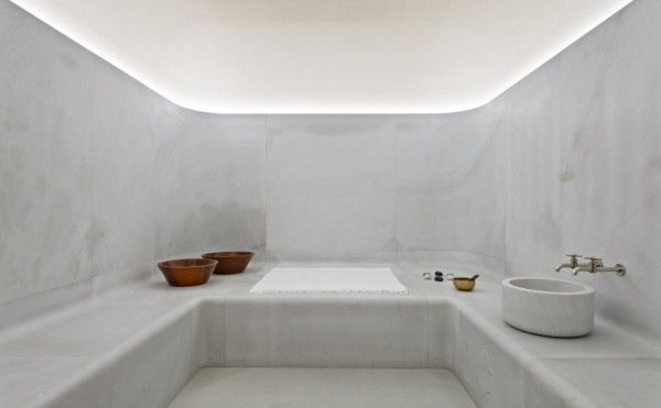Minimalistic Luxury Spas