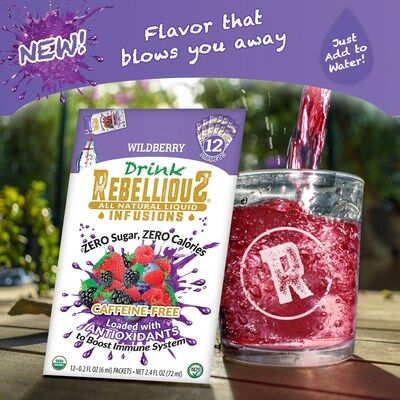 Energizing Non-Caffeinated Drink Mixes