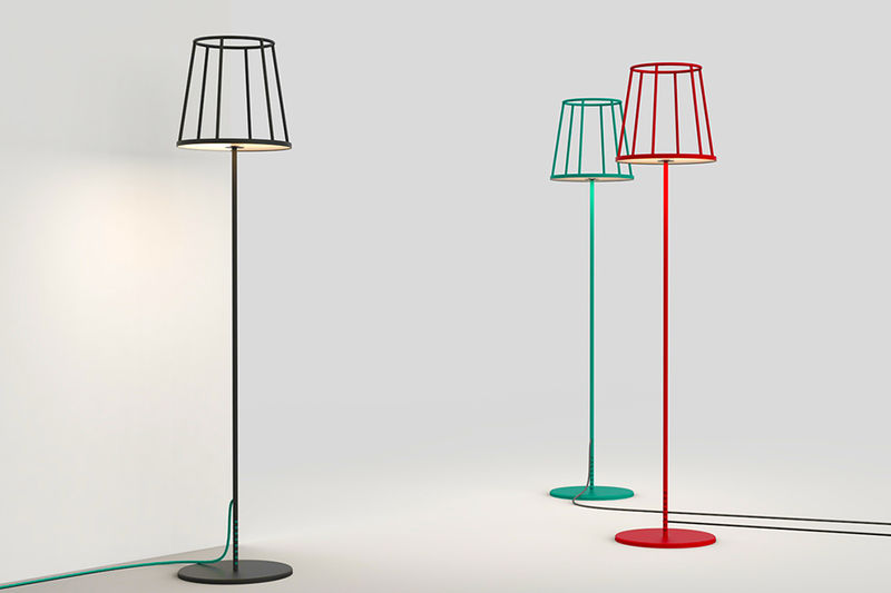 Caged Floor Lamps