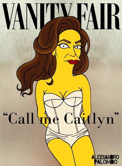 Cartoonized Transgender Celebrities