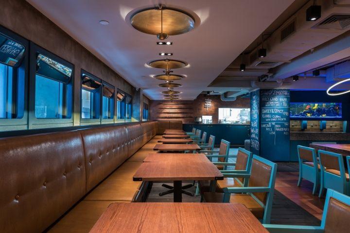 Cajun restaurant interiors