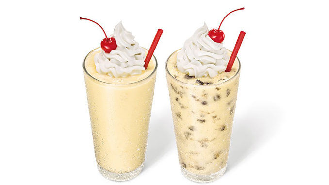 Creamy Cake Batter Milkshakes