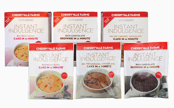 Microwaveable Plant-Based Cake Mixes