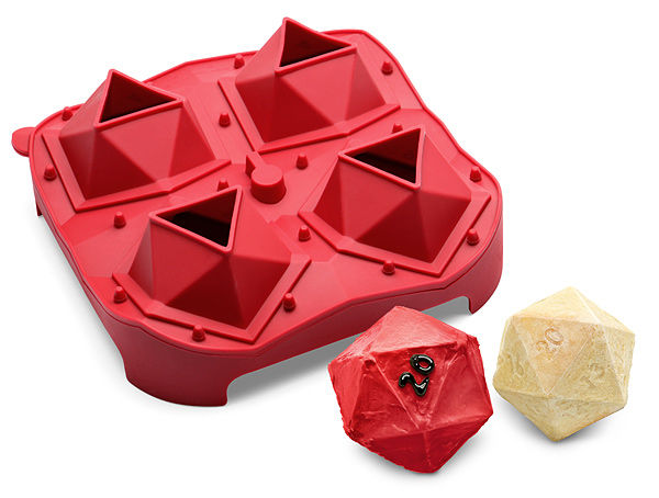 Dice Themed Cake Molds