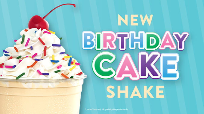 Creamy Birthday Treat Milkshakes