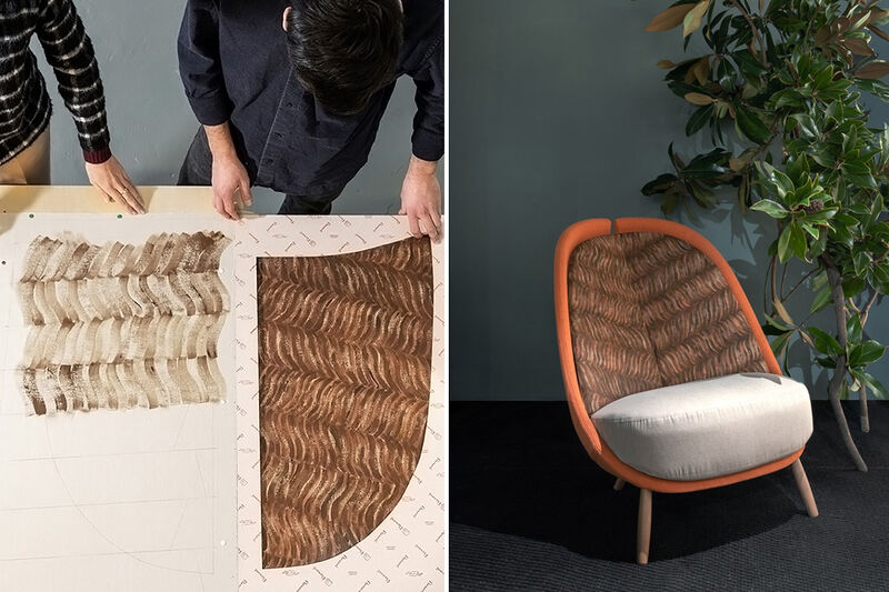 Naturalistic Sustainably Designed Chairs