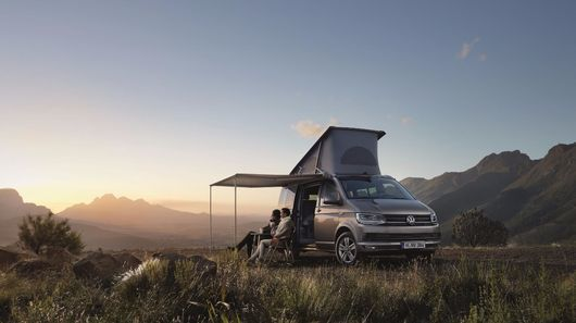 Modernized Camper Vans