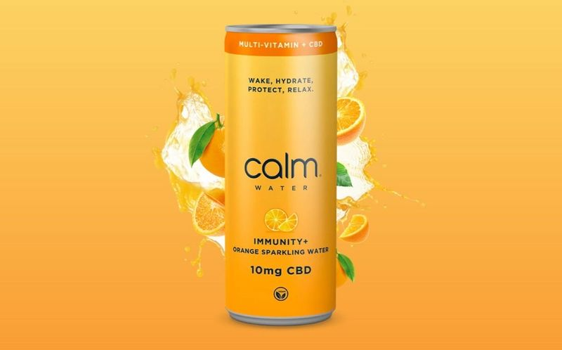 Multivitamin-Infused CBD Sparkling Waters