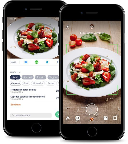 Food Recognition Apps