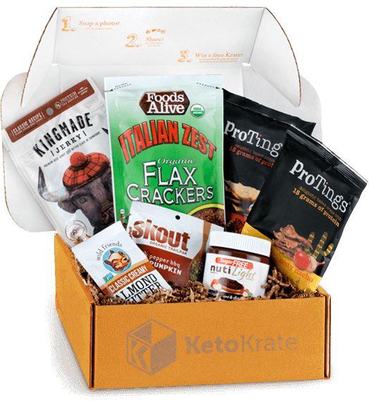 Calorie-Conscious Snack Subscriptions