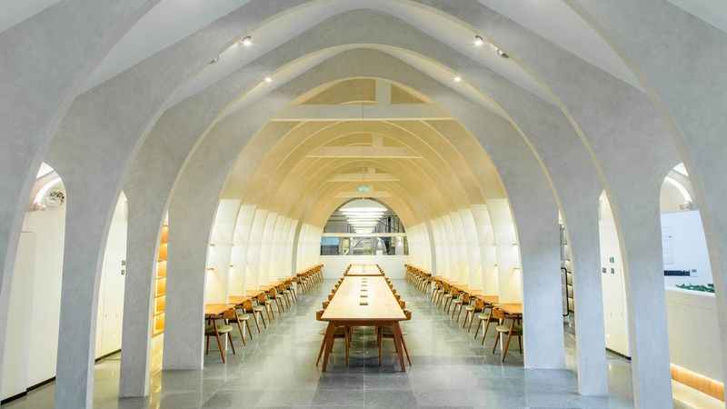 Church-Like Co-Working Spaces