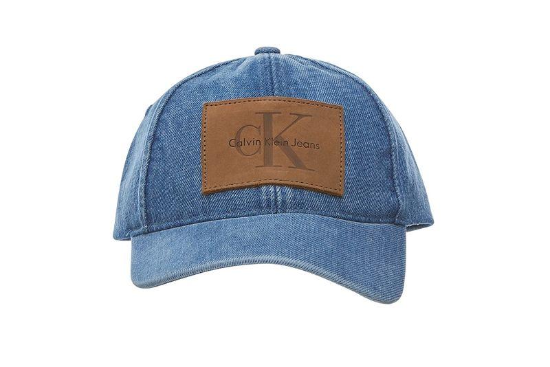 Denim Logo Baseball Caps
