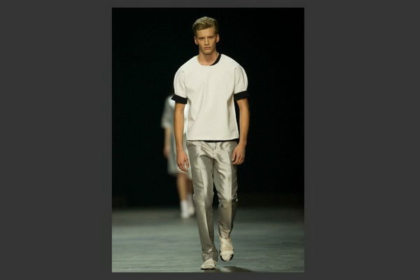 Celebratory Metallic Menswear