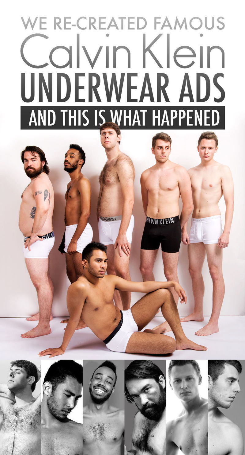 Male Body-Positive Ads
