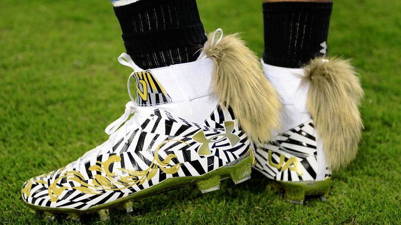 Fox Tail Football Cleats