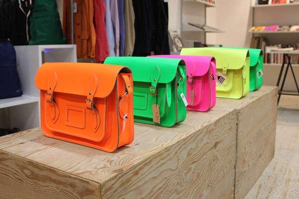 Intense Fluorescent Bags