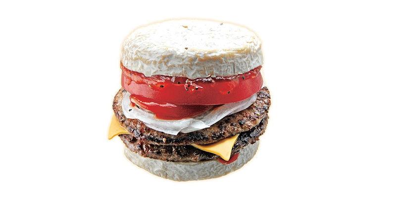 Camembert Bun Burgers