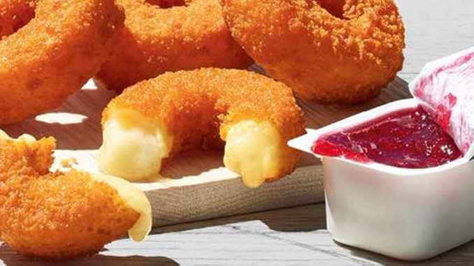 Mini Cheese-Filled Donuts
