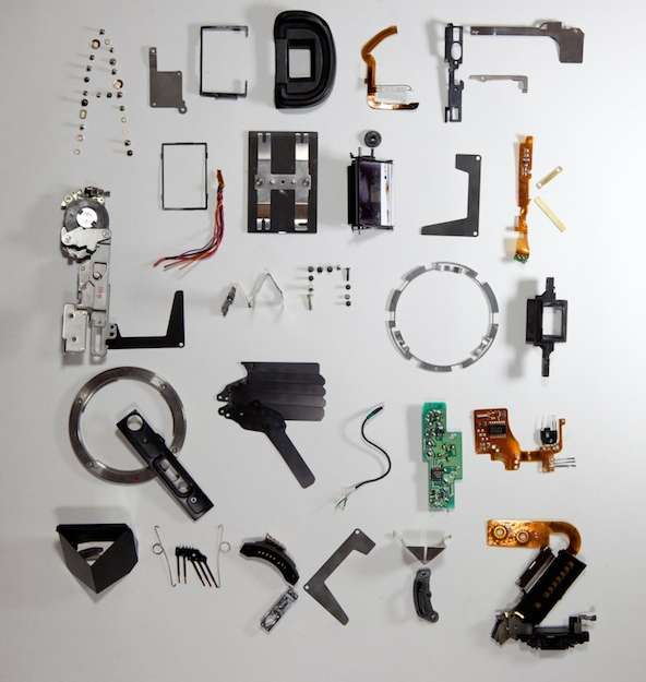 Typographical Photo Components