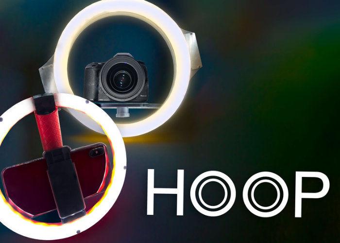 Camera-Stabilizing Ring Lights
