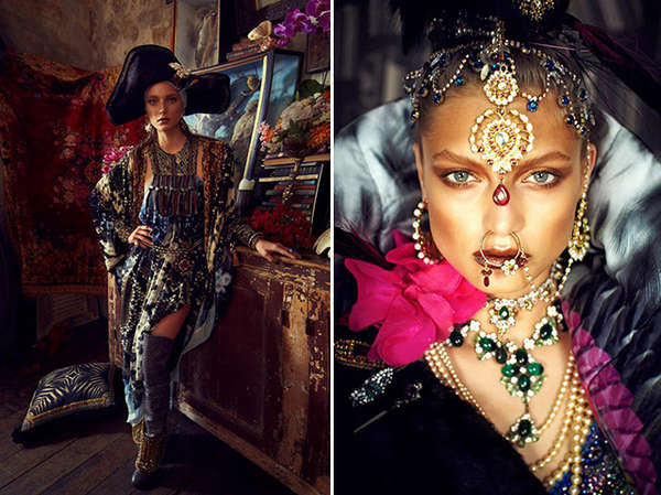 Mysteriously Edgy Gypsy Editorials