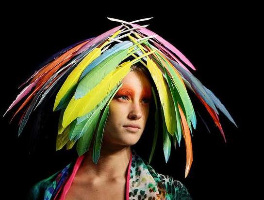 Technicolor Headdresses