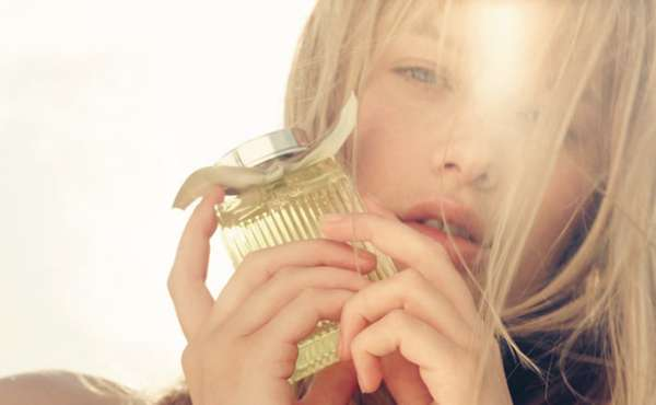 Sun-Kissed Perfume Campaigns