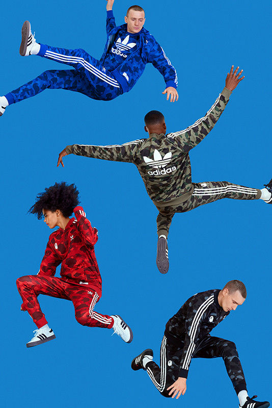Colorful Camoflauge Sportswear