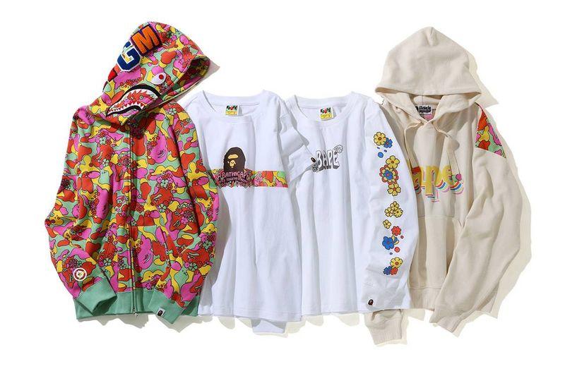 Ultra-Colorful Camo Print Streetwear