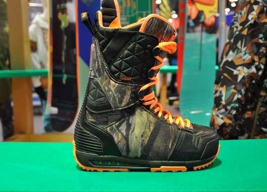 Camo Snowboard Boots