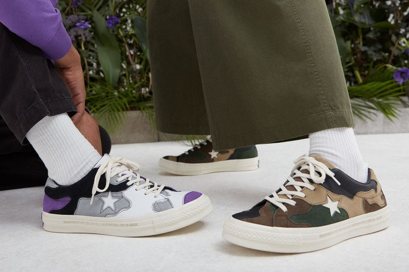 Chromatic Camouflage Shoe Collections