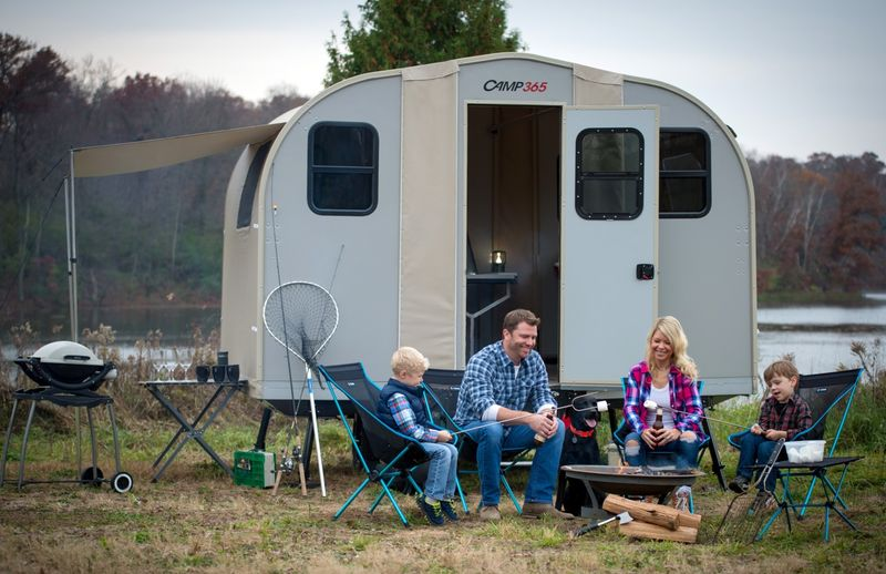 Incredibly Compact Camping Trailers