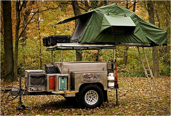 Versatile Camping Trailers Campa Usa All Terrain Trailer