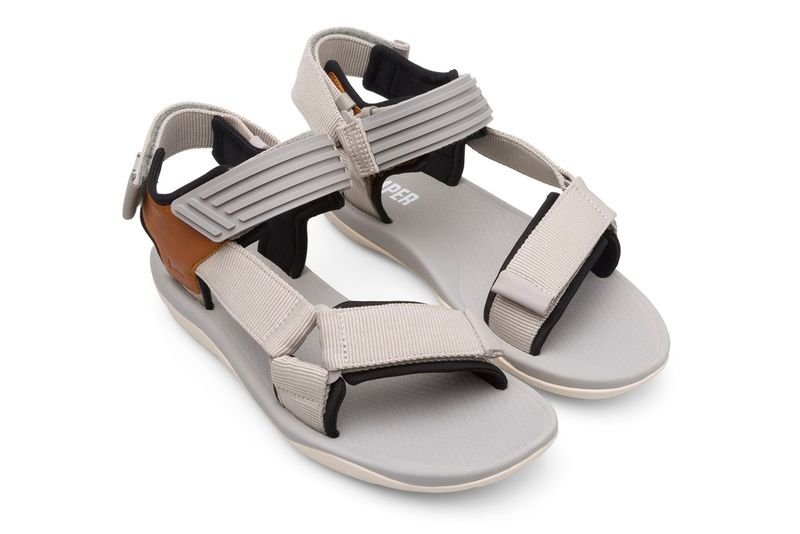 Activewear-Inspired Leather Sandals